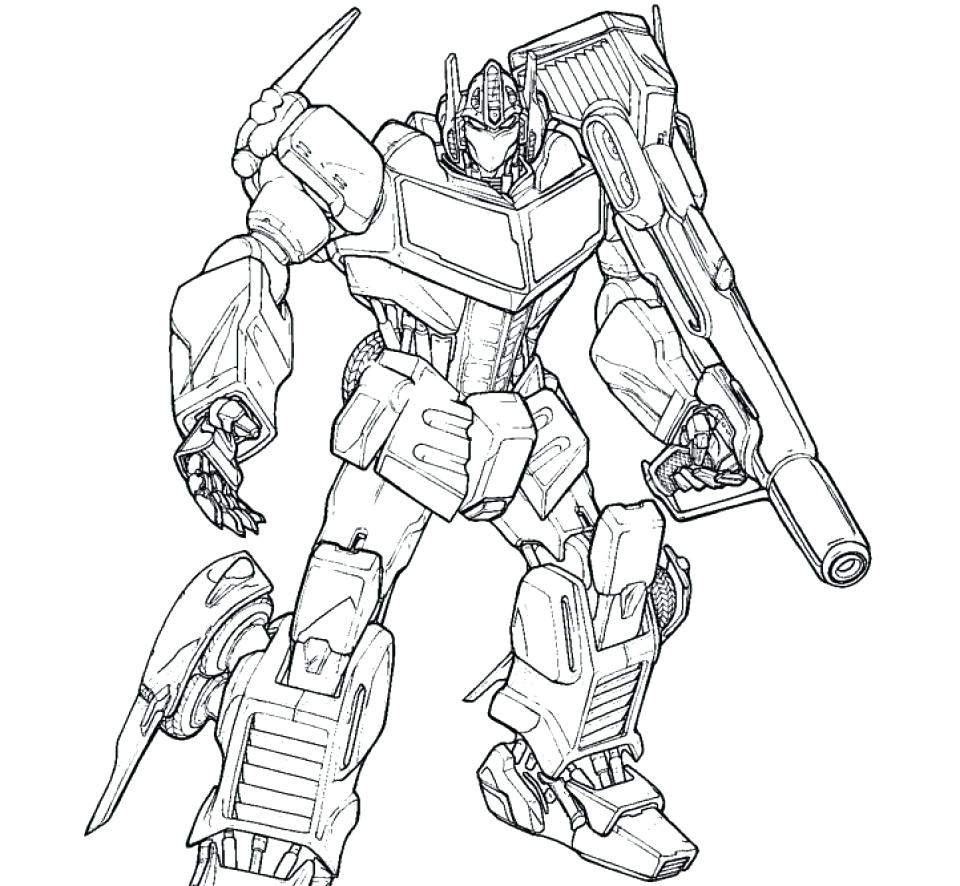960x886 Coloring Pages Transformers Coloring Pages Transformer Prime