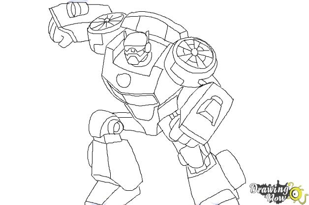 Transformers Dinobots Coloring Pages
