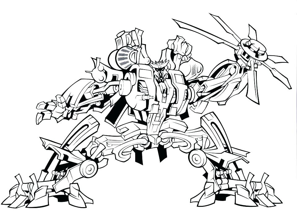 960x689 Robots Coloring Pages Fighting Robot Coloring Pages Rescue Bots