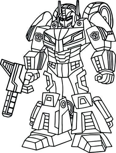 380x500 Transformer Coloring Page Coloring Pages Transformers Prime