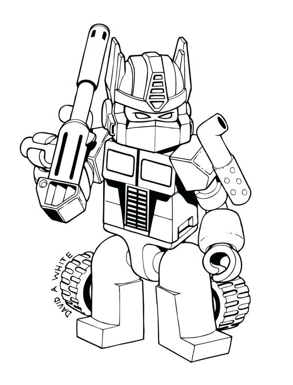 600x788 Transformer Coloring Page Free Printable Transformers Coloring