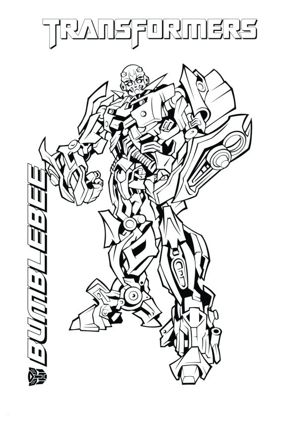 600x849 Transformer Coloring Pages Awesome Bumblebee Transformer Coloring