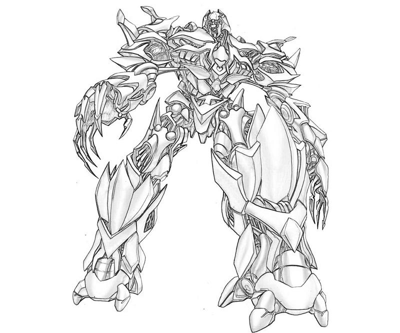 Transformers Grimlock Coloring Pages At Getdrawings Com