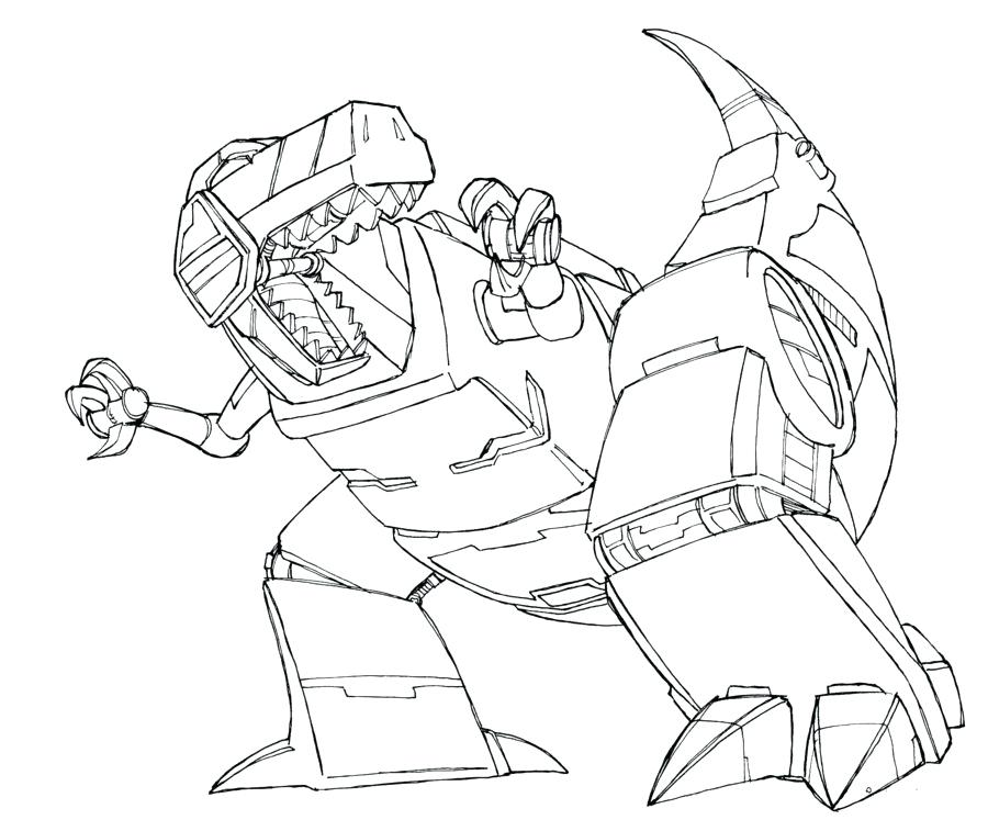 900x747 Transformers Grimlock Coloring Pages