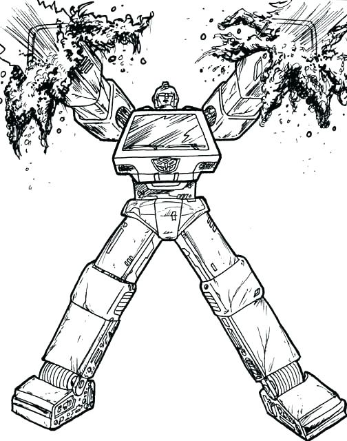 504x640 Transformers Grimlock Coloring Pages Bumblebee Transformer