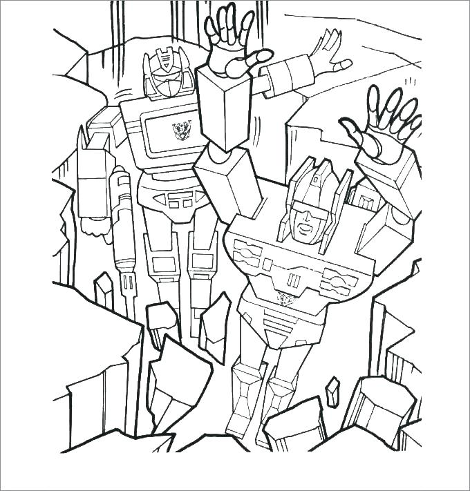 680x711 Transformers Grimlock Coloring Pages Transformer Coloring Pages