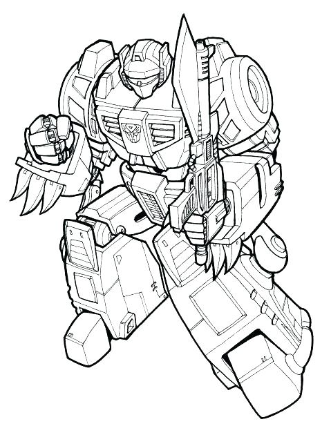 479x630 Transformers Grimlock Coloring Pages Warrior Coloring Page More