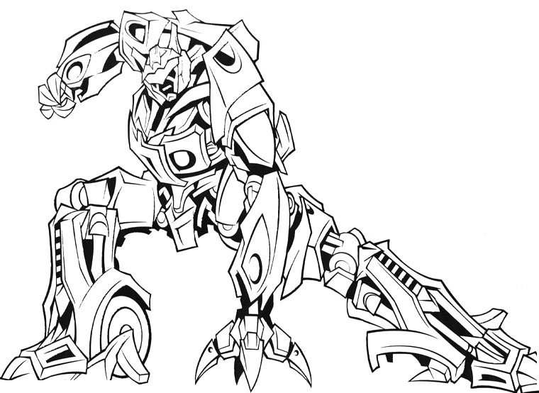 760x554 Grand Transformer Coloring Pages To Print Optimus Prime Grimlock