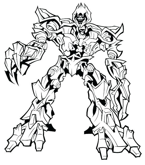550x626 Coloring With Coloring Pages Transformers Coloring Pages