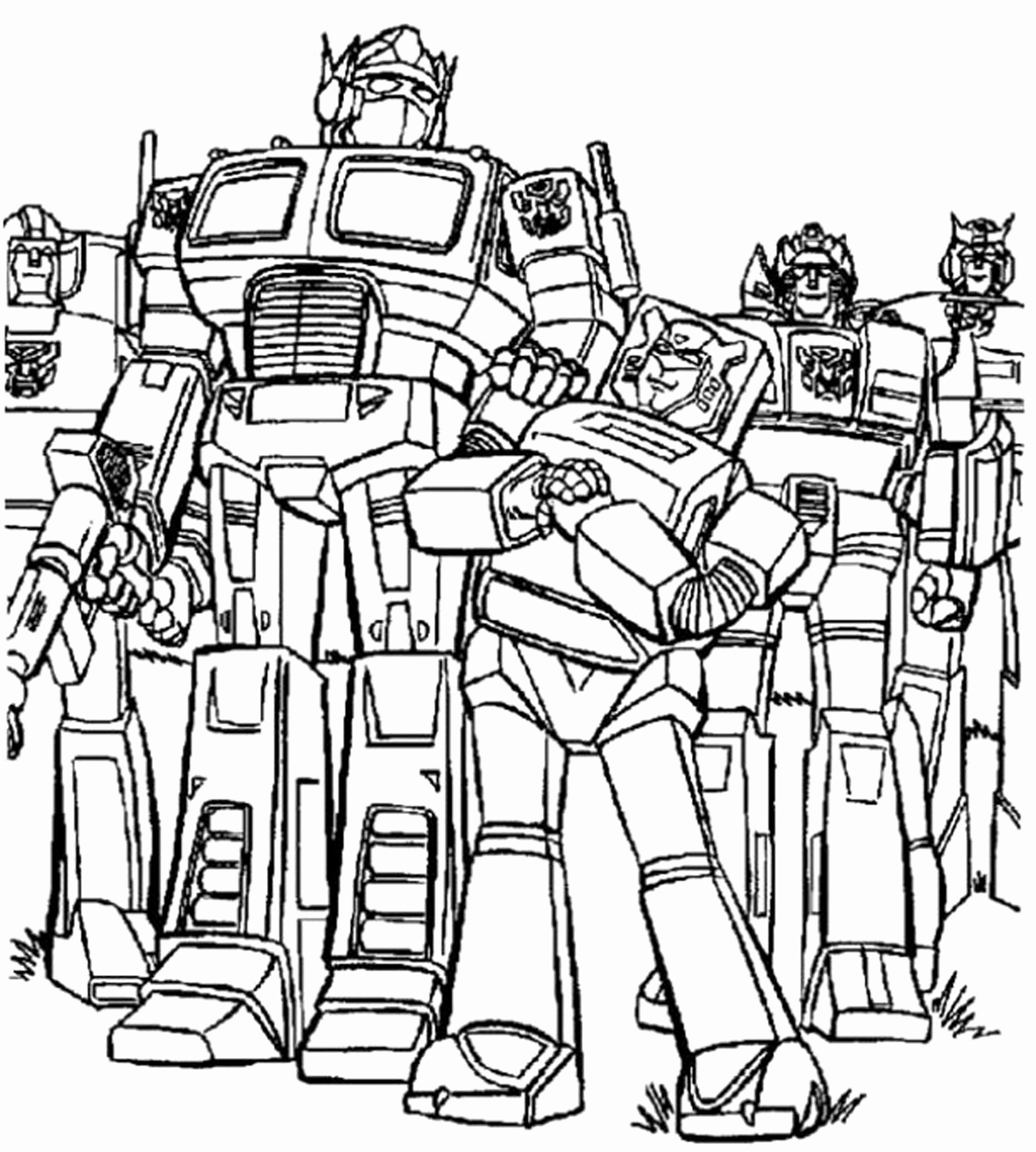 2500x2778 Print Download Inviting Kids To Do The Transformers Coloring