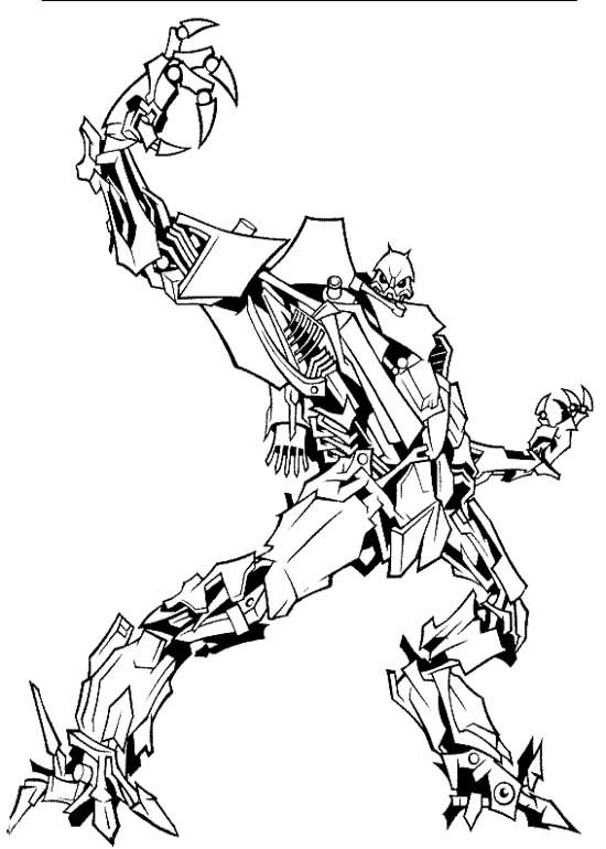 550x770 Stunning Idea Megatron Coloring Pages Printable Best