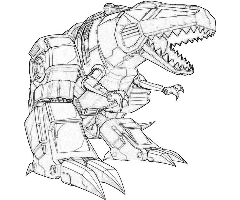 Transformers Megatron Coloring Pages At Getdrawingscom Free For