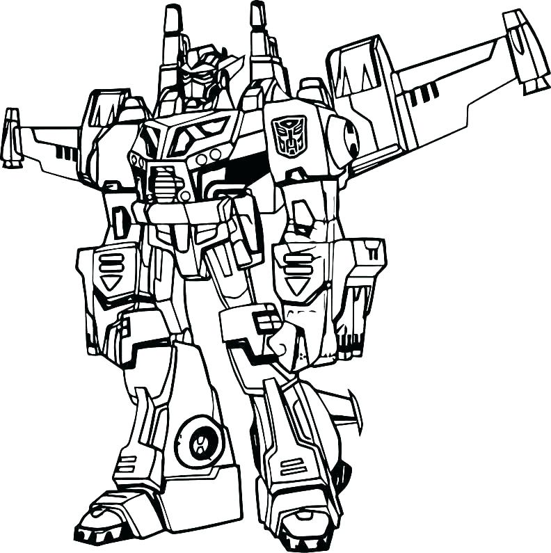 792x795 Megatron Coloring Pages Free Transformers Coloring Page