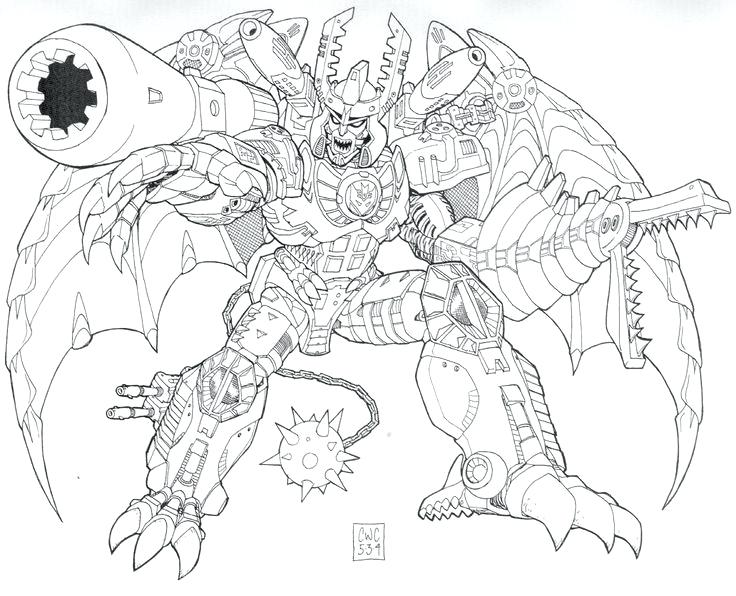 736x596 Megatron Coloring Pages Prime Coloring Pages Transformers Coloring