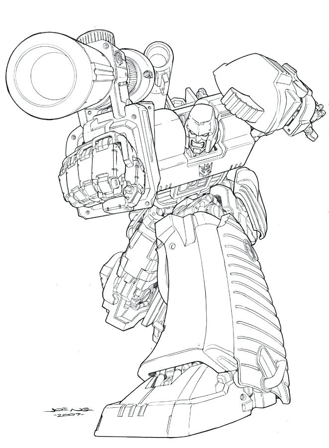 662x900 Megatron Coloring Pages Transformers Coloring Page Optimus Prime