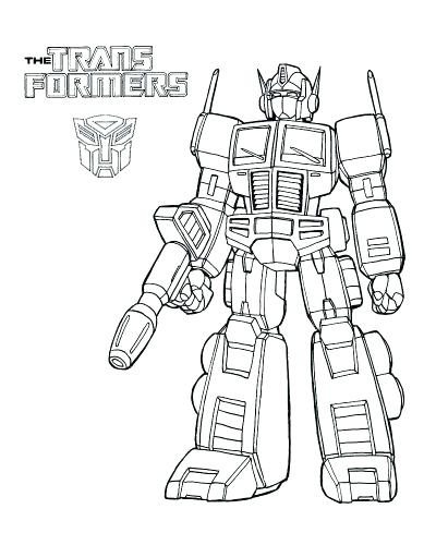 400x500 Optimus Prime Coloring Pages Printable Medium Size Of Prime