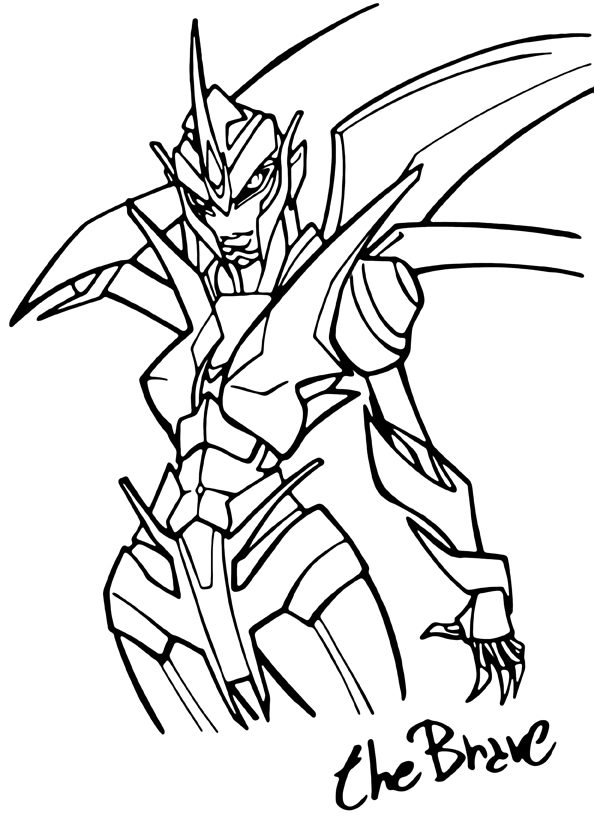 Transformers Prime Coloring Pages At Getdrawings Com Free For