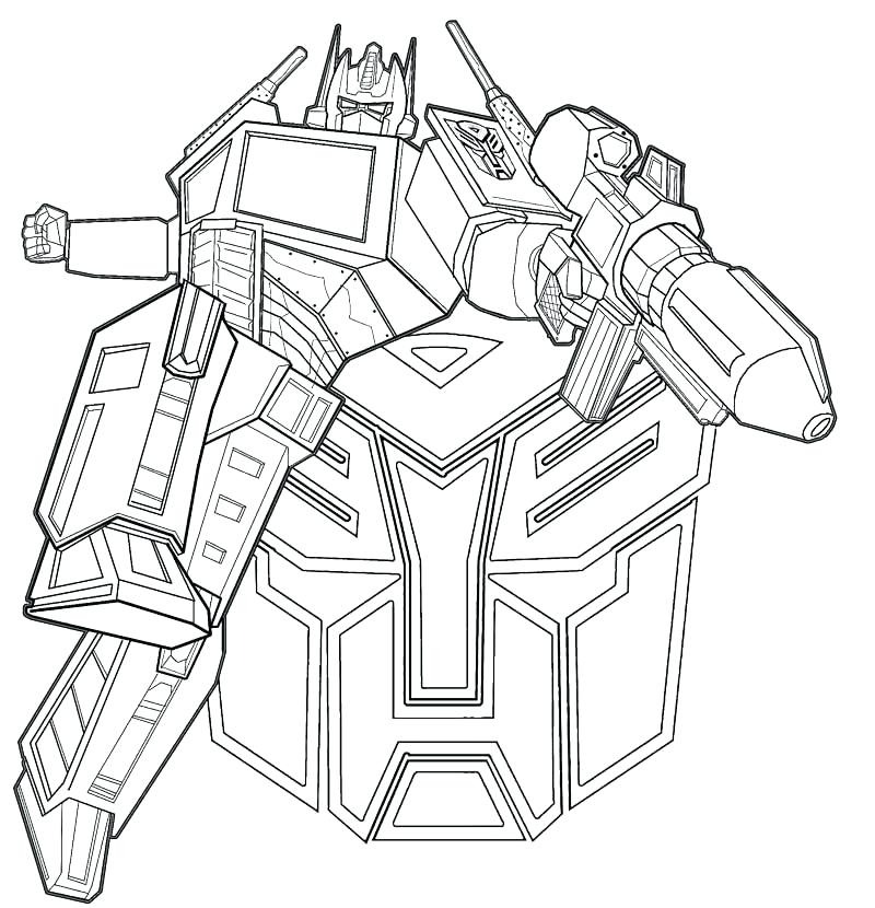 800x830 Transformers Coloring Pages Transformers Bumblebee For Spectacular