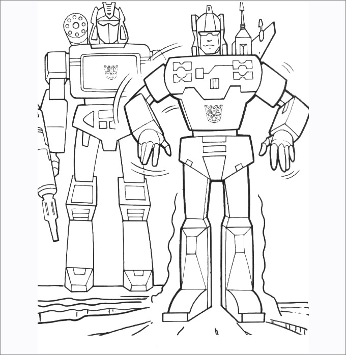 Transformers Printable Coloring Pages At Getdrawings Com