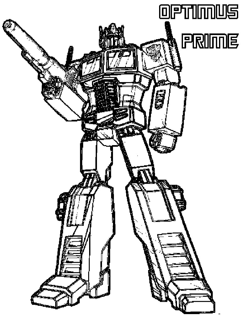 Transformers Printable Coloring Pages At Getdrawings Com Free For