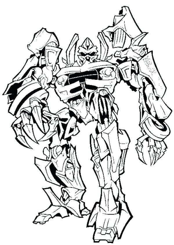 600x844 Transformers Coloring Pages To Print Transformer Color Pages