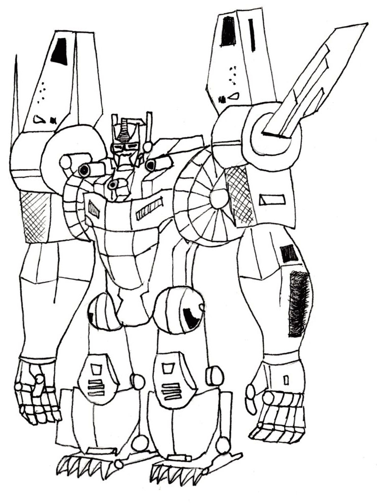 768x1024 Transformers Printable Coloring Pages
