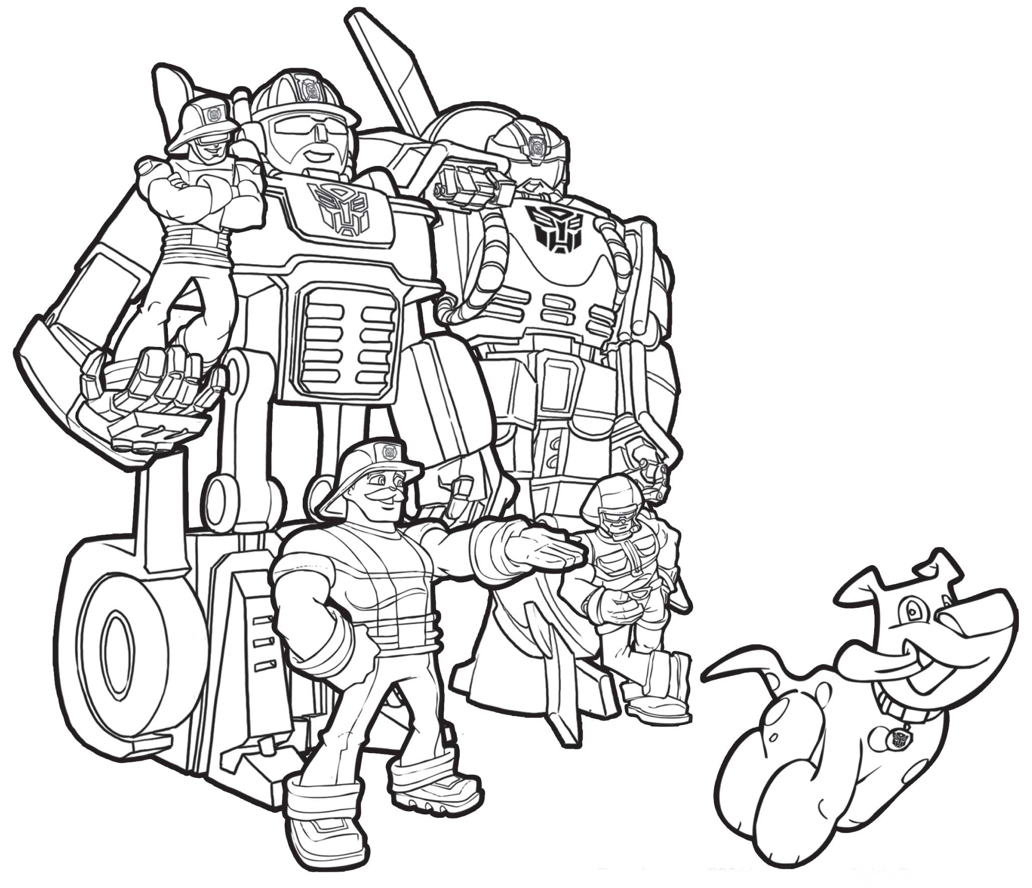 2059x1771 All Rescue Bots Coloring Pages For Kids Luxury Transformers Rescue