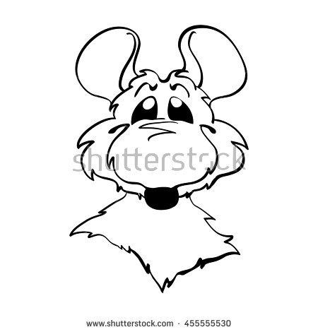 450x470 Drawn Mice Big Ear