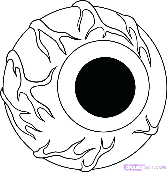 671x690 Hawkeye Coloring Pages Coloring Pages Eyeball Coloring Pages