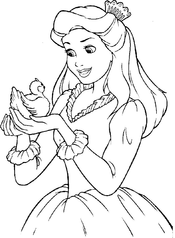 700x955 Disney Princess Coloring Pages