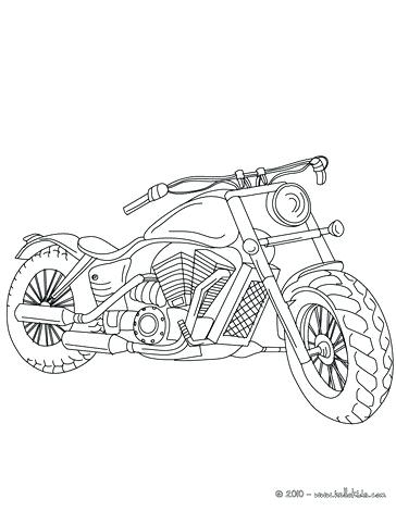 364x470 Motorcycle Coloring Pages Printable Trail Racer Coloring Page