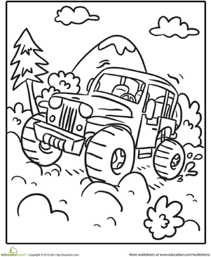 301x366 Off Road Vehicle Worksheet