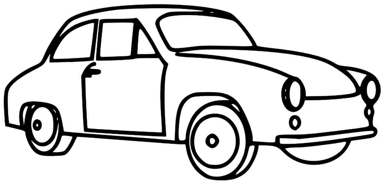 Transportation Coloring Pages For
