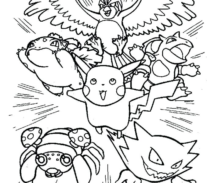 Trash Pack Coloring Pages