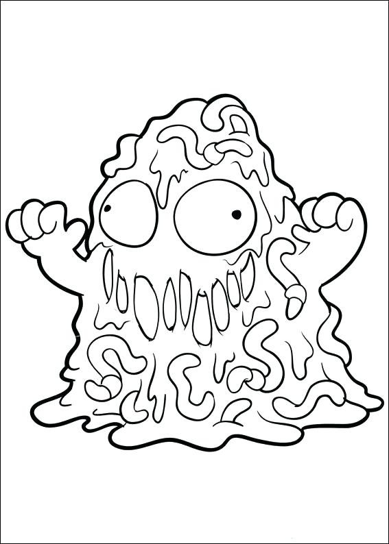 567x794 New Grossery Gang Coloring Pages And Index Coloring Pages Trash