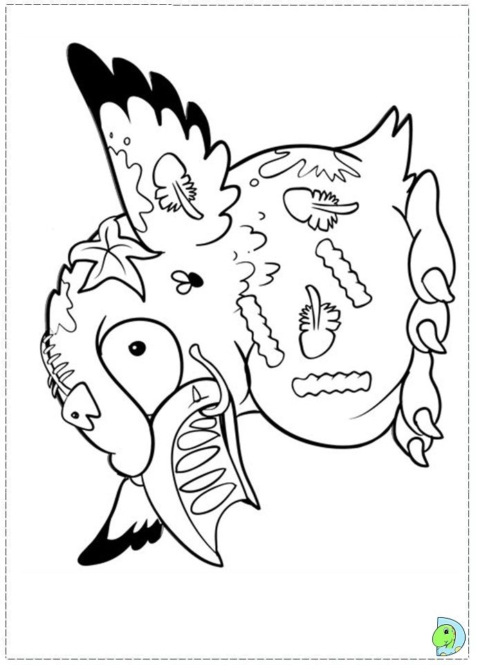 691x960 The Trash Pack Coloring Page