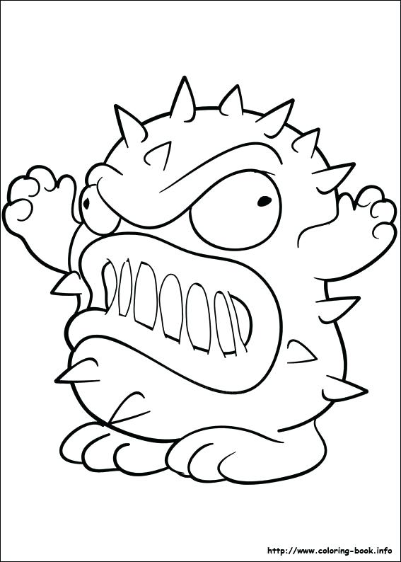567x794 Trash Pack Coloring Pages To Print The Trash Pack Coloring Picture