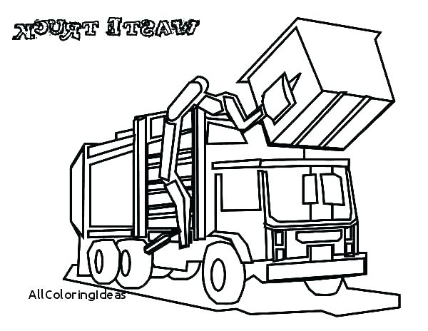 600x464 Garbage Truck Coloring Page Dump Truck Coloring Page Truck