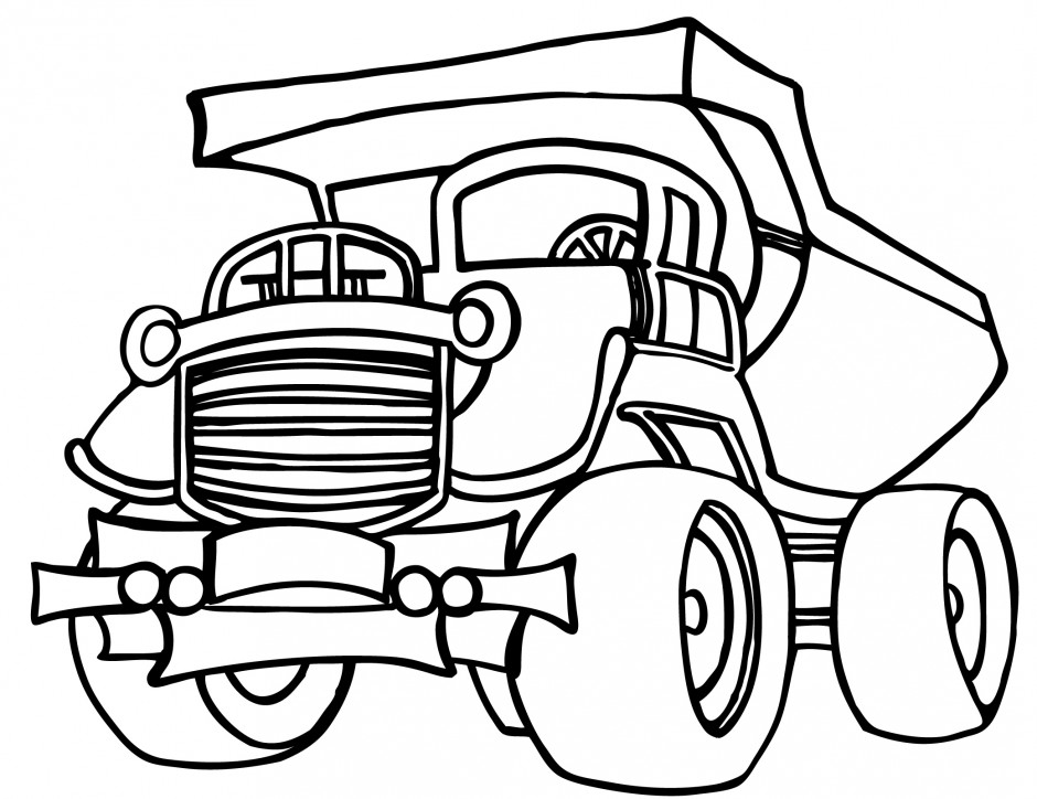 940x724 Garbage Truck Coloring Pages Finley And Isabelle Coloring Page