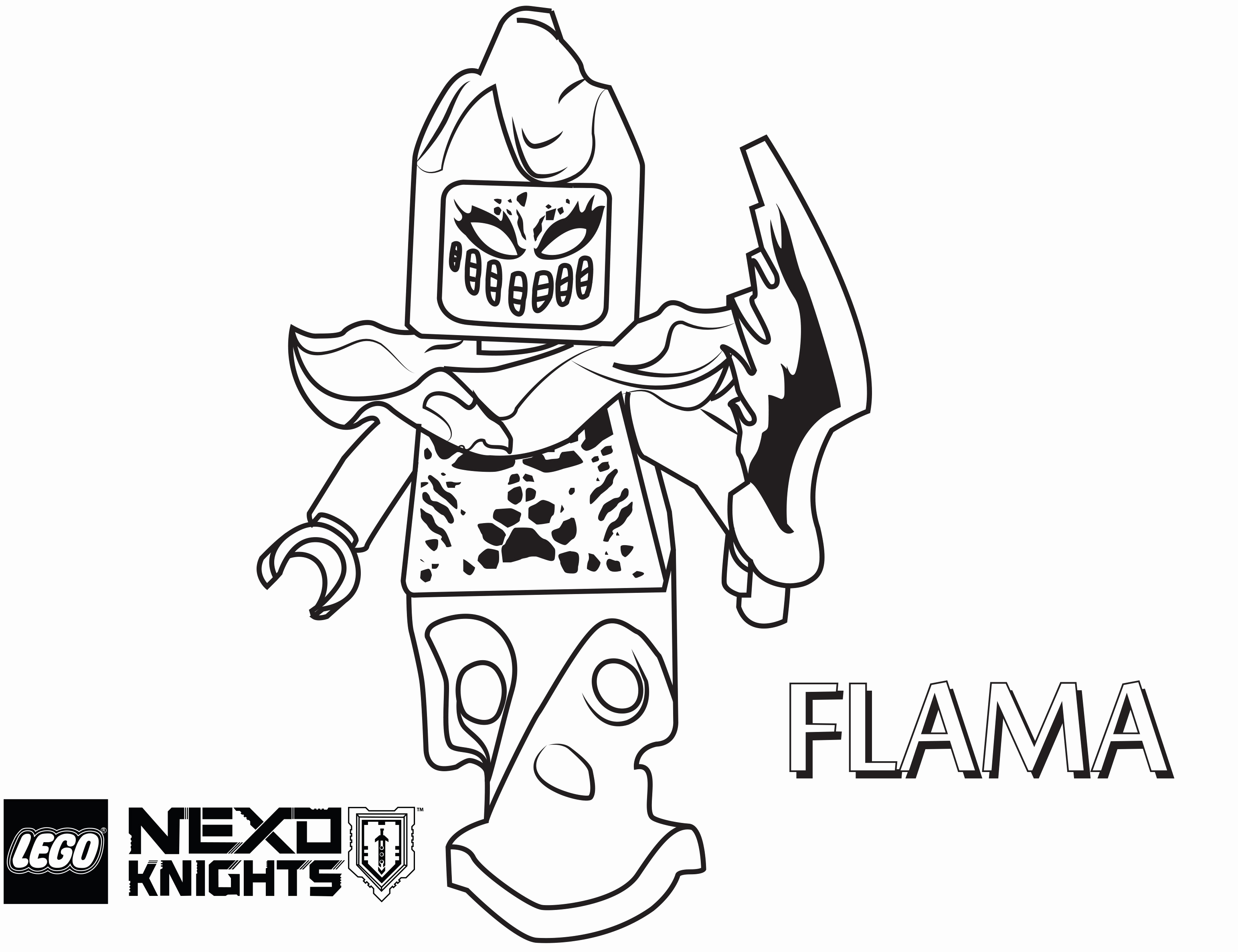 3088x2375 Monster Coloring Pages Lovely Printable Lego Knights Coloring