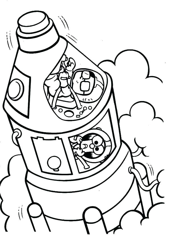 600x827 Spaceship Coloring Pages Spaceship Coloring Page Babies Space