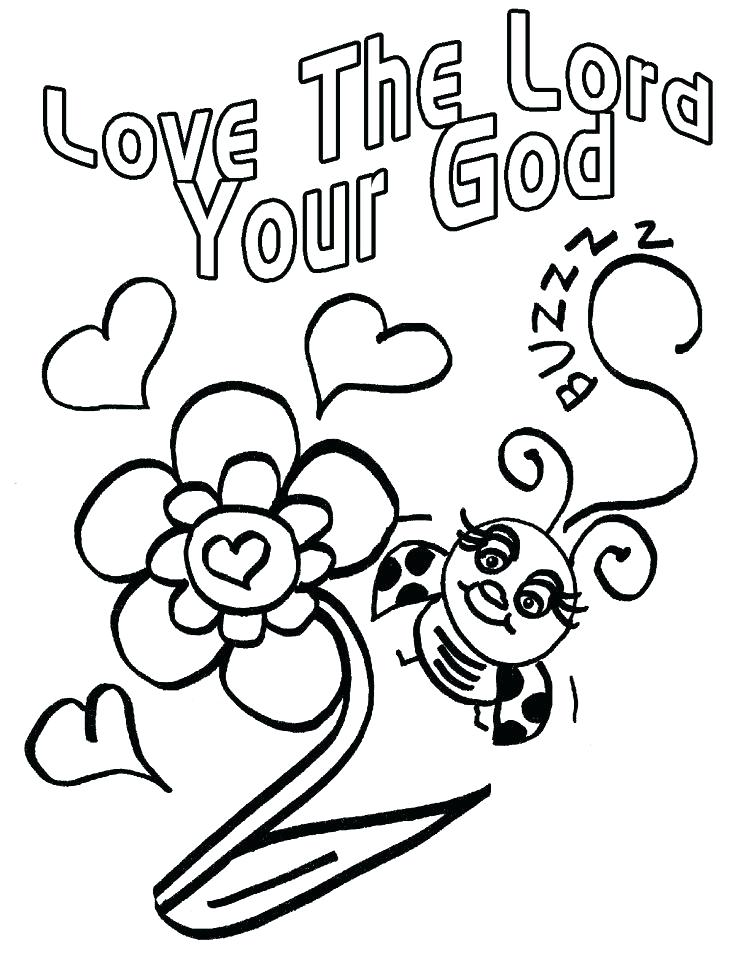 736x966 Love Bug Coloring Pages God Loves You Coloring Page Gems In My