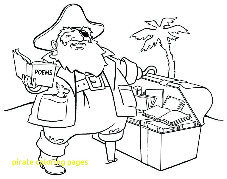 762x600 Pirate Coloring Pages With Treasure Chest Coloring Sheet Fat