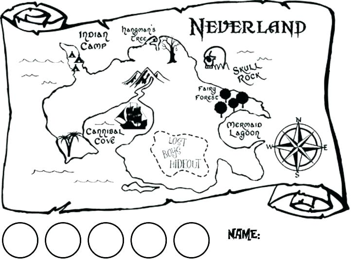 photo about Free Printable Treasure Map called Treasure Map Coloring Site at  Absolutely free for