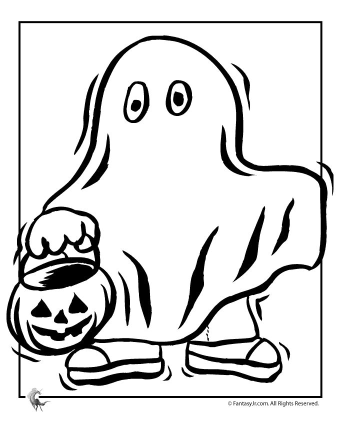 Treats Coloring Pages