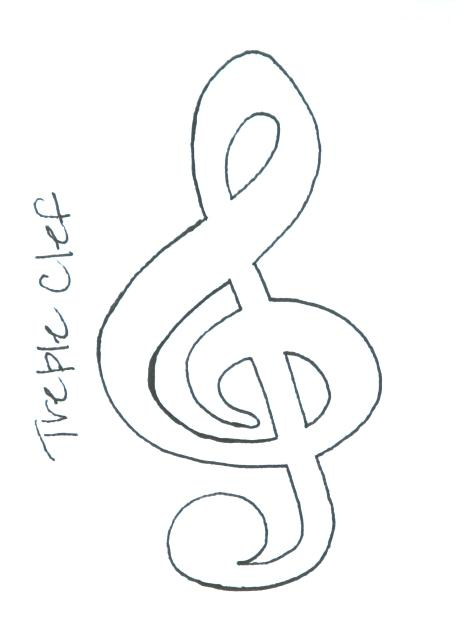 462x640 Music Note Coloring Page Treble Clef Is Music Note Coloring Page