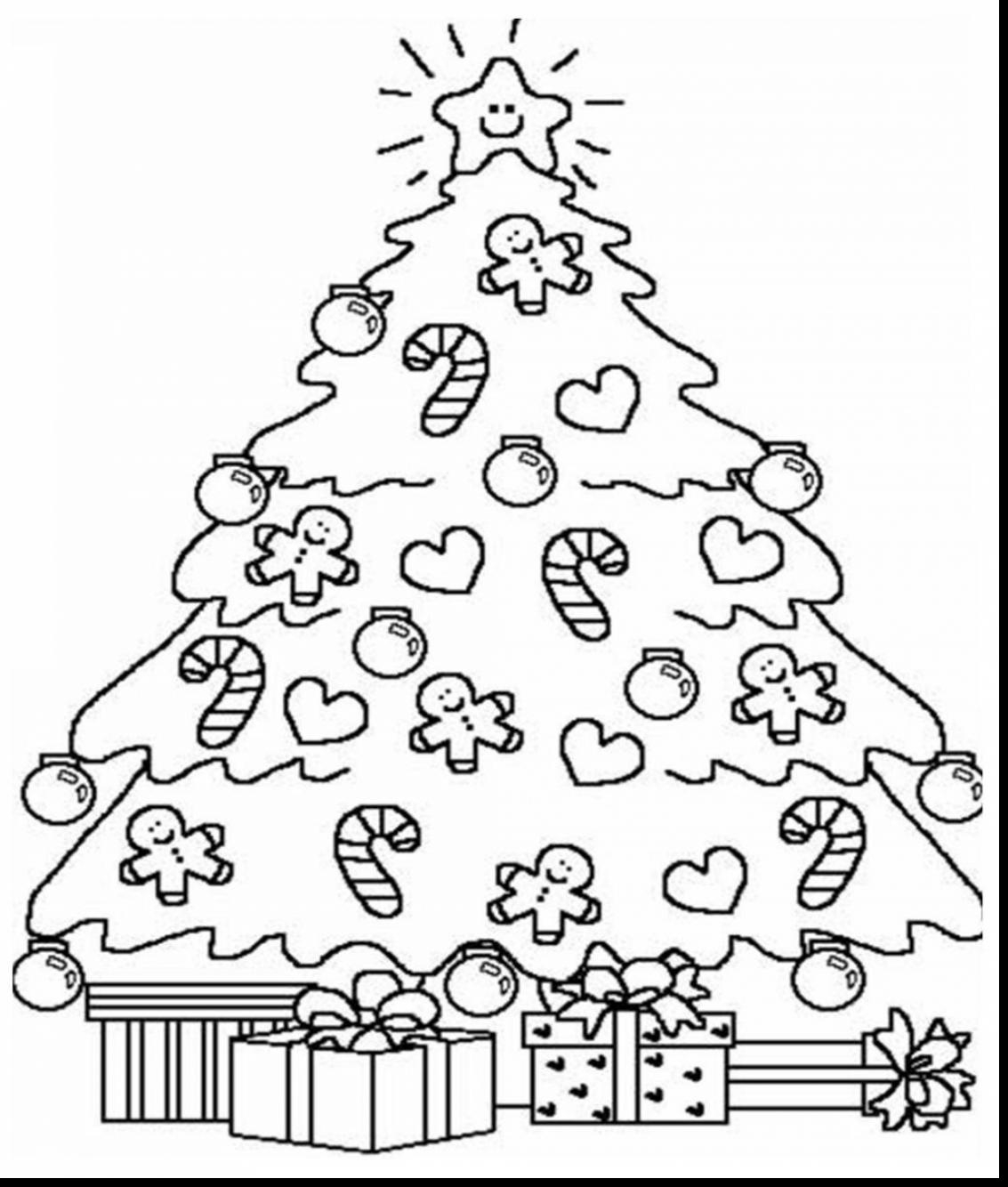 1133x1334 Christmas Tree Coloring Pages Adults To Print Coloring