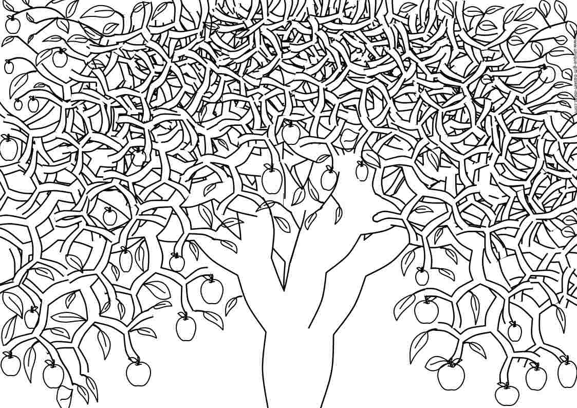 1123x794 Free Printable Adult Coloring Pages