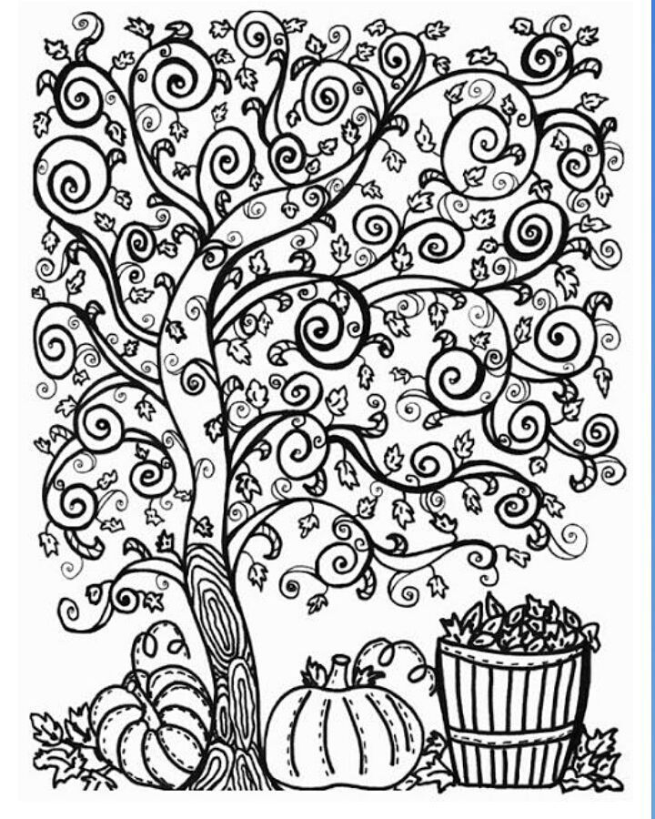720x900 Best Trees Coloring Sheets Images On Colouring Book