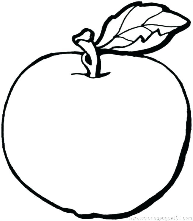 650x742 Apple Tree Coloring Page Plain Ideas Tree Coloring Page Coloring
